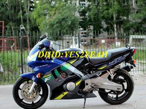 Silver blue Fairing kit for HONDA CBR600F3 95 96 CBR 600F3 CBR600 CBRF3 F3 1995 1996 Motorcycle Fairings set HG33