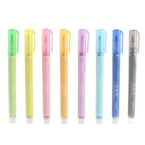8 PCS Double Line Pen Color Art Markers Marker Pen Set Gel Ink For Adult Children Student marker stationery set