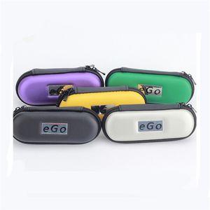 Etui en cuir eGo Etui à cigarettes électronique Taille S / L Pochette à fermeture à glissière e Cig ego Housse de transport e Cig Box pour atomiseur evod batterie ego kit