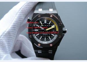 Superior del reloj Relojes movimiento de la fábrica libre del envío de 42 mm de lujo Proveedor de calidad superior de caucho pulsera para hombre reloj automático de los hombres de