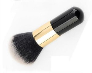 New Foundation Face Kabuki Powder Contour Makeup Brush Cosmetic Tool Round Head Xiaopangdun BB Cream Tools 10pcs