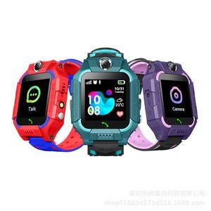 Q19 Kinder Kinder Smart Watch LBS Positionierung lacation SOS Smart-Armband mit Kamera Taschenlampe Wearable Armbänder für Baby-Sicherheits-Studenten
