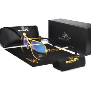 Mincl Flat Top Oversized Square Sunglasses Women Gradient 2019 Summer Style Classic Women Sun Glasses Male Big Square Eyewear Nx Y19052001