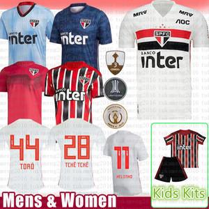 Bambini kit da uomo Sao Paulo calcio Jersey 6 REINALDO 7 PATO NUOVO Jucilei maglia da calcio 9 PABLO 10 DANI ALVES 12 V.BUENO Hernanes EVERTON TCHE