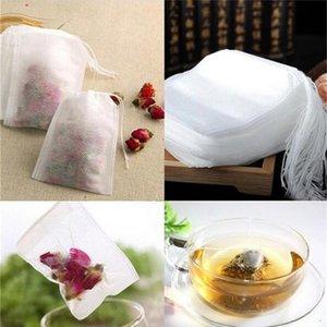 100PCS Bag 5.5*7CM Drawstring Tea Bag