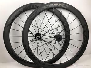 2020 La vendita superiore 38 millimetri 50 millimetri COS MIC SLR Carbon Wheels 3k tessuto di saia Bike Ruote 700C cinese OEM decalcomania della strada del carbonio bici ClincherWheels