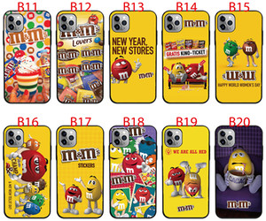 For Motorola Moto G6 G7 Power P40 P30 Note C E5 Plus G5s Z3 Z4 Play case Soft TPU Print pattern M&Ms Chocolate High quality phone cases