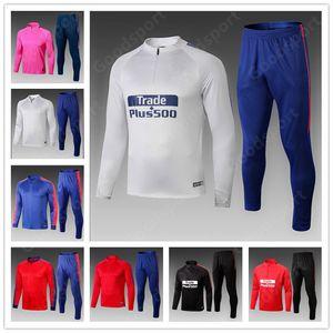 2019 tracksuits kits Jackets GRIEZMANN Soccer KOKE GELSON GABI SAUL LEMAR football shirts sport calcio futebol suits training HOT sy