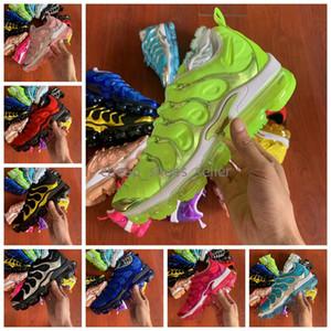 2020 Nouveaux TN plus d'hommes de femmes Chaussures de course Green Sports sport chaussure air femme femmes de raisin d'or, argent, hommes formateurs Designer Sneakers 36-45