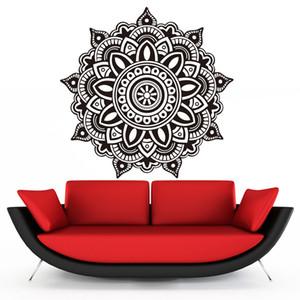 1 Pcs Mandala Fleur Indien Wall Sticker Chambre Sticker Art Autocollants Étanche Murales Home Family Vinyle Papier Peint Décor À La Maison