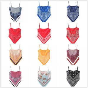sexy elegante stampa a righe serbatoio camis supera indietro piegano senza maniche spalline camicie cravatta casuali femminili cime chic 12 colori