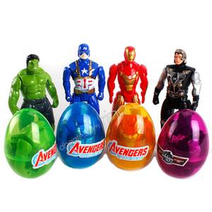 Marvel The Avenger Building Blocks Sorpresa Twist Eggs Ragazzi Giocattoli per bambini Action figures Iron Man Captain America Hulk Bricks Minifigures Regali