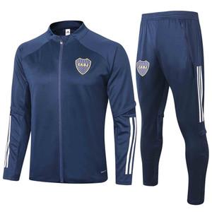 19 20 21 New Boca Juniors soccer jacket tracksuits 19 20 GAGO survetement OSVALDO CARLITOS PEREZ P long sleeve Football training suit