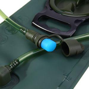 2L 2.5L 3L TPU della bocca della bicicletta di sport del sacchetto di acqua della vescica idratazione accampa facendo un'escursione scalata militare Green Bag Blue Water