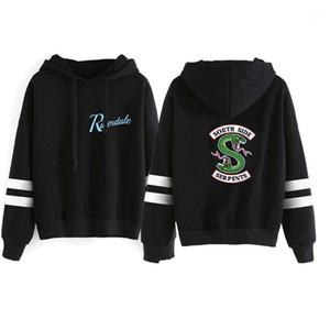 Hoodies hommes Vêtements décontractés Riverdale Marque Hommes Designer Hoodies Mode en vrac Lettre imprimé animal lambrissé Hommes