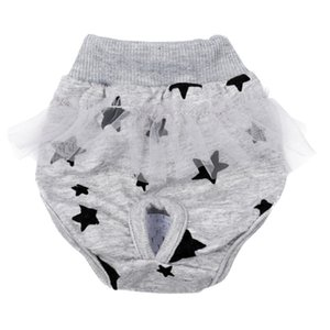 Dog Cotton Diaper Sanitary Physiological Pants Washable Female Dog Shorts Panties Menstruation Underwear Briefs XS-L
