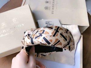 Silk Satin Stripe Hair Band Printing Headband Letter Cross Knot Headband Women Hair Head Hoop Bands Accessories For Girls