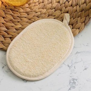 2020 New Natural Effective Exfoliator Scrubber Bath Brushs Massager Shower Loofah Luffa Back Spa Scrubber Sponges