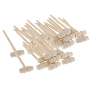 Mini Holz Hämmer Mehrzweck Naturholz Hammer Für Kinder Pädagogisches Lernen Spielzeug Krabben Hummerschläger Hämmern Hammer