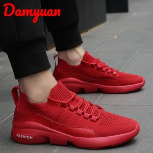scarpe da corsa traspirante Damyuan nuovi uomini di 2019 sono di dimensioni moda, assorbente, confortevole fare jogging casuale 47