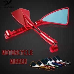 espelho Universal motocicleta lado retrovisores acessórios da motocicleta para nmax155 YBR125 tmax530 XT600 xmax MT10 XJR1300
