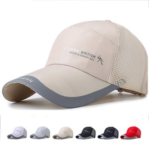 Cappelli di bombardiere del berretto del berretto del visiera parasole del berretto da tennis da corsa di caccia di pesca della spiaggia di sport all'aperto delle nuove protezioni di golf Vendita libera di trasporto