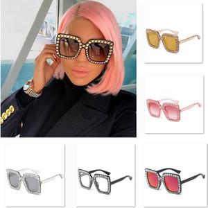 Moda Quadrado Óculos De Sol Mulheres Itália Designer de Diamante Óculos de Sol Das Senhoras Do Vintage Feminino Óculos de Proteção Óculos Suprimentos Do Partido WX9-1477