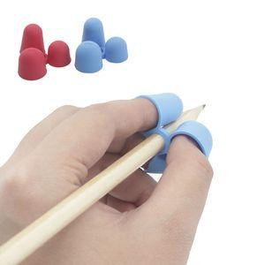 Crianças Anti Miopia lápis aperto 3 dedos de silicone Anti Skid bom para os olhos escrita Garra aprendizagem brinquedos