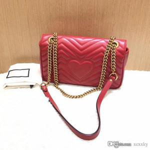 Высокое качество женские 443497 26 см Marmont Matelassé кожа сумка Gg античное золото тонированные аппаратные средства лоскут сумка с мешком для пыли
