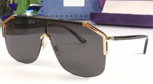 Nuevo diseño de moda gafas de sol gafas 0291 sin marco ornamental Eyewear UV400 Protection Lente de alta calidad simples gafas al aire libre con estuche