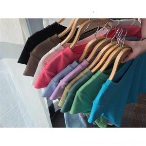 Короткие куртки Ins дизайн моды ниши 2020 куртки рукав клип рукав клип многоцветную короткие рукава футболка женщина