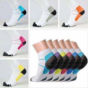 Unisex Anti-Fatigue фасциит FXT Носки сжатия Носки Professional Elite Баскетбол Носки Спорт Бег Короткие лодыжки Мягкая Носок C7136