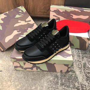 A Top Quality 2019 дизайнерские мужские женские кроссовки Rockrunner Camoufalge Повседневная обувь со звездой des chaussures Zapatos schuhe trainers
