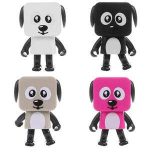블루투스 스피커 brinquedos 아이 장난감 미니 큐빅 강아지 RC 로봇 키즈 댄스 로봇을 걷는 것은 원격 전기 액션 피겨를 제어