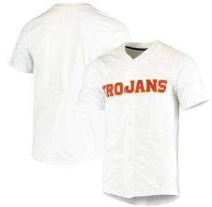 Benutzerdefinierte Männer Frauen Jugend Kardinal USC Trojaner Dampf Untouchable Elite Baseball Jersey Jeder Name Und Nummer Jersey Hight Qualität Größe S-4XL