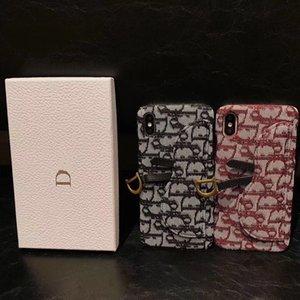 Marca D progettista della cassa del telefono per iPhone Pro 11 MAX XS Max XR X 6 7 8 più della cassa del raccoglitore
