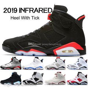 2019 infrarossi Bred VI 6 6s Mens scarpe da basket 3M riflettenti Bugs Bunny Tinker Hatfield UNC Oreo di sport degli uomini delle scarpe da tennis delle donne Formatori 7-13