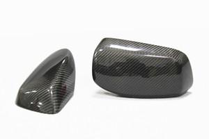 Echt Carbon Seitenspiegel Abdeckkappen für 5er Serie E60 2004-2006 Original Stil Ersatzspiegelkappen Zubehör