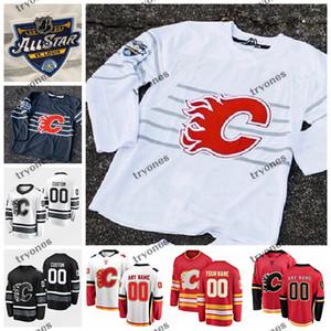 2020 All Star Maçı özelleştirme 19 Matta Tkachuk 5 Mark Giordano 33 David Rittich Monahan Gaudreau Calgary Flames Hokeyi Jersey Talbot Lucic