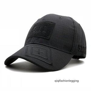 Temporada 511 baseball cap camuflagem tampão ao ar livre tático mágica selva cap adesivo soldado