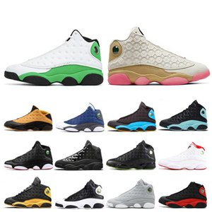 New CNY LUCKY GREEN 13 13s Men basketball shoes Cap and Gown Chicago Bred Phantom Altitude mens women trainers Sports Sneakers
