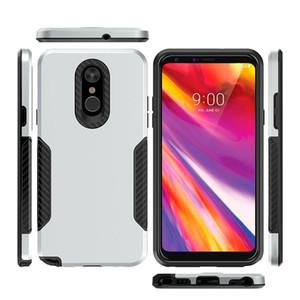 Pour Samsung Galaxy J7 2018 pour Samsung Galaxy 2018 hybride Armure J3 en fibre de carbone Capitaine Case Cas anti-choc A