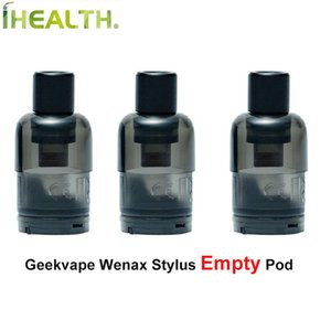 GeekVape Wenax Stylus vazio Pod 2ml cartucho Suporta G Bobina Fórmula Fit para GeekVape Wenax Stylus Kit