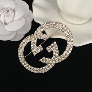 2019New Corlorful Crystal Esmalte Broche Mujeres Diseñador Famoso Traje Traje Broches Pin de la Solapa Del Partido Joyería de La Boda Accesorios017