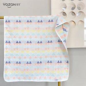 yazan Baby Summer Blankets Super high quality Newborn safe breathable soft 3 floors Cotton Gauze Blanket Muslin