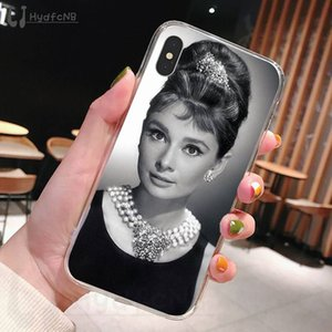 2020 Одри Хепберн ТПУ Мягкий чехол для телефона iPhone 11 Pro XS MAX 8 7 6 6S Plus X 5 5S SE XR охватывают оптовая