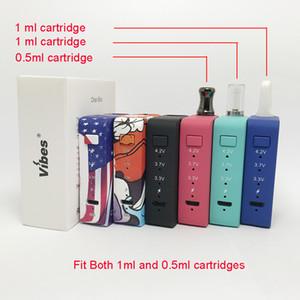 Kalın Yağ Kartuşları Tankı Pen İçin Orjinal vibe'lar Vape Pil Elektronik Sigara Pil Gerçek 650mAh 510 Konu