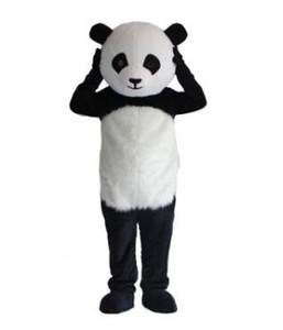 Professionnel En Gros Nouvelle Version Chinois Géant Panda Mascot Costume De Noël Costume De Mascotte Livraison Gratuite
