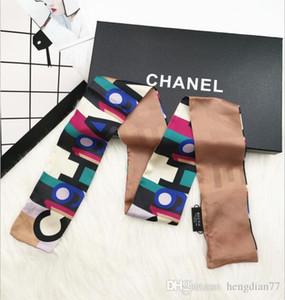 donne calde fascia Borsa sciarpa di modo classico testa alta qualitá fascia per capelli Sciarpe di seta reale di modo 100% la sciarpa Trasporto di goccia