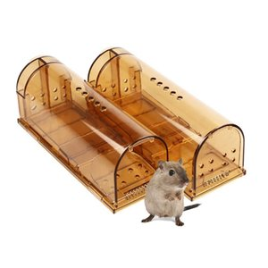NEW-Smart Mouse Trap That Work No Kill Mice Catcher Indoor Outdoor Small Mice Traps Live Catch and Release, Easy to Set and Reus